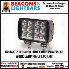 3000 lumen led work light britax 12 led 3000 lumen high power led work l pn l83 00 lmv ebay