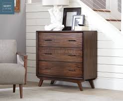 Coaster Curio Cabinet Scott Living Accent Cabinet In Warm Brown 950760 By Coaster