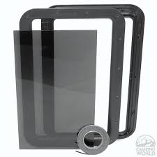 rv door glass clear view entry door window kit rv and rv camping