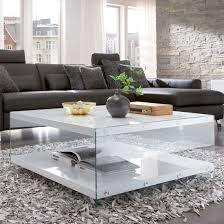 white coffee table decorating ideas olymp glass top coffee table with high gloss white side for living