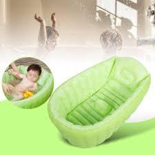 portable inflatable baby bath kids bathtub shower basin child