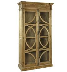 Wooden Cabinet With Glass Doors Display Wood Cabinet Musicalpassion Club