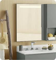 framed bathroom mirrors brushed nickel ronbow 602523 bn contemporary 22x 30 metal framed bathroom mirror
