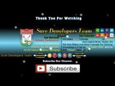 video intro maker online free sure developers team video intro