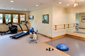 gym interior design home gym traditional with wall mounted tv