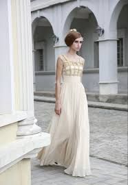 ivory bridesmaid dresses ivory wedding dress with geometric gold