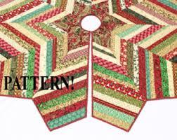 tree skirt pattern etsy