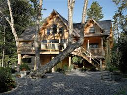 wheelchair accessible log home plans