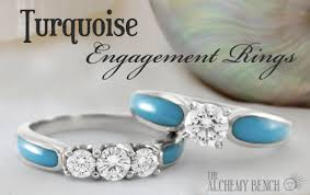 turquoise wedding rings unique turquoise engagement rings handcrafted in the us