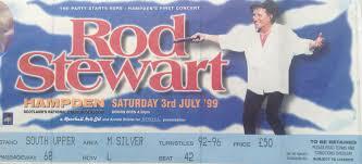 rod stewart hampden park glasgow 3rd july 1999 vintagerock u0027s weblog