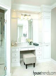 amazing bathroom ideas built in bathroom vanity ideas nxte club