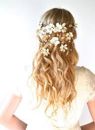bridal flowers for hair peinados de novia con flores fotos actitudfem peinados