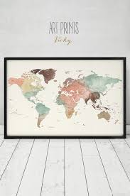 World Map Framed 25 Best Wooden World Map Images On Pinterest Timber Walls