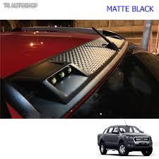 light leds cap front roof spoiler for ford ranger t6 mk2 wildtrak