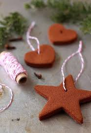 these cinnamon ornaments will make your tree