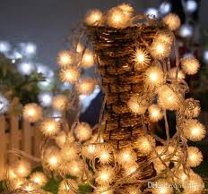 Decorative Christmas Light Strings by Cheap 30m 20m 10m Hair Ball String Lights Decoration Hair Ball