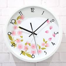 world outside the garden wall clock flowers florid fashion watches