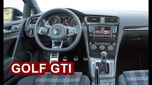 volkswagen gti 2017 2017 volkswagen golf gti interior youtube