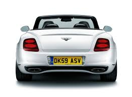 chrome bentley convertible bentley continental supersports convertible 2010 cartype