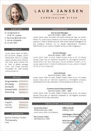 manificent design template curriculum vitae fanciful 40 best free