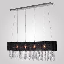 Rectangular Shade Pendant Light by Lightintheboxstylish Pendant Light With Black Fabric Shade Modern