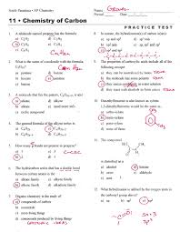 chemistry chapter 11 chemical reactions test answers 28 images