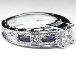 blue sapphire engagement rings from mdc diamonds nyc
