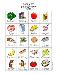 free printable grocery game u create