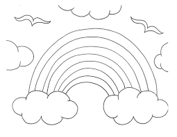 free coloring pages of r is for rainbow 4864 bestofcoloring com