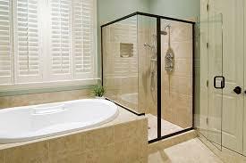 Framed Vs Frameless Shower Door How Much Do Frameless Showers Cost Stellar Glass Works
