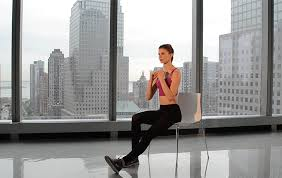 Chair Squat Athletic Trainers 7 Minute Bodyweight Workout