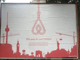 berliners castrate airbnb logo in campaign for better homeshare