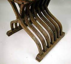 Savanarola Chair An Ivory Inlaid Walnut Savonarola Chair