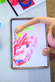 scrape painting craft project ideas and baby crafts