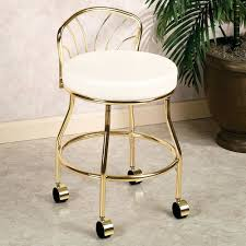 elena vanity stool vanity stool for bathroom home design ideas and pictures
