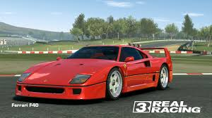 chrome ferrari ferrari f40 real racing 3 wiki fandom powered by wikia