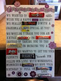 candy for birthdays candy bar poster ideas with clever sayings candy bar posters