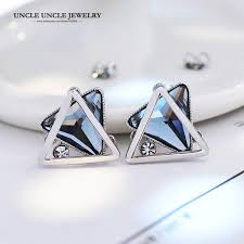 aliexpress buy new arrival hight quality white gold aliexpress buy new arrival 925 needle earring white gold