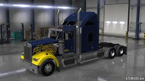 w900 hard truck kenworth w900 skin mod ats mods