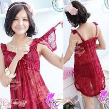 Baju Tidur baju tidur sw24g16 maroon chaviori intimate shop