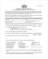 21 free training evaluation form