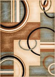 Area Rugs With Circles Amazon Com Well Woven Barclay Arcs U0026 Shapes Red Modern Geometric