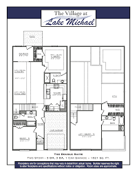 in suite plans floor plans at mebane townhomes