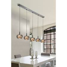 schuller arian 5 light kitchen island pendant light kitchen