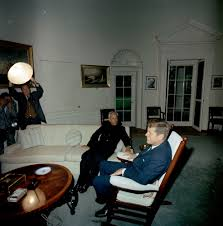 st c200 6 63 president john f kennedy with president of india