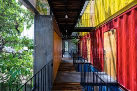 no end to the trend shipping container hostel opens in vietnam