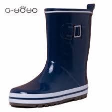 gyoyo toddler rain boots boys unisex classic children shoes girls