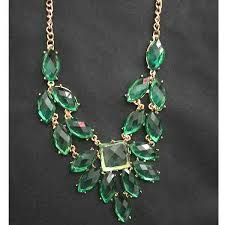 green fashion necklace images Korna jpg