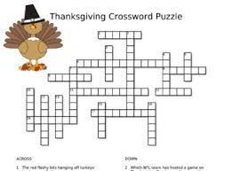 thanksgiving crossword puzzle by a philosopher s paradise tpt