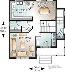 3 bedroom house plans with basement multi family plan w2795b detail from drummondhouseplans
